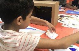 Taller infantil de artes plásticas