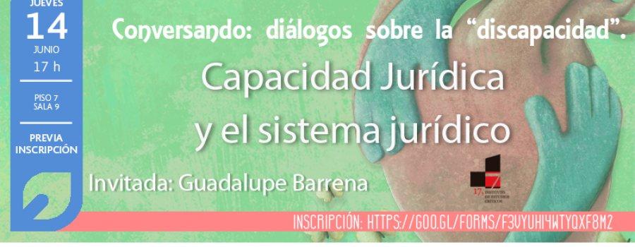 Capacidad jurídica y el sistema jurídico