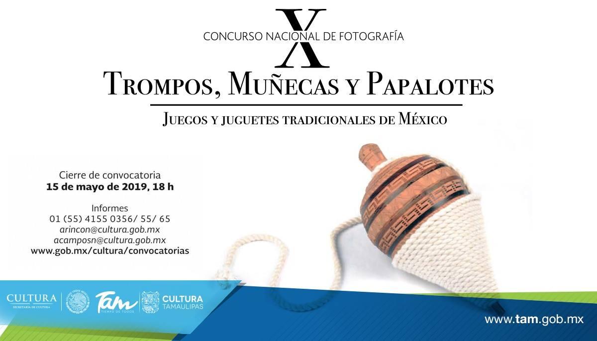"""X Concurso Nacional de Fotografía """"Trompos, muñeca..."""