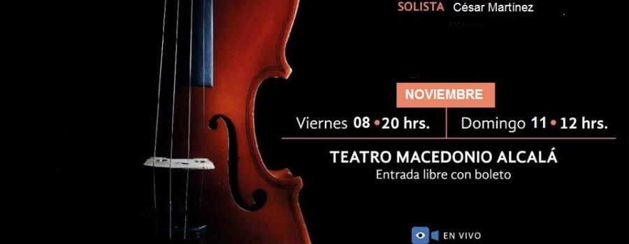 Concierto 3 Orquesta Sinfónica de Oaxaca