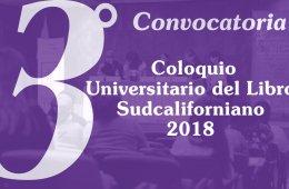 3° Coloquio Universitario del Libro Sudcaliforniano 2018