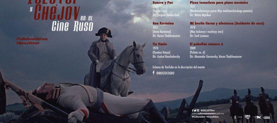 Tolstoi y Chéjov en el cine ruso