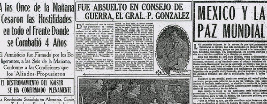 11 de noviembre de 1918: Fin de la Primera Guerra Mundial