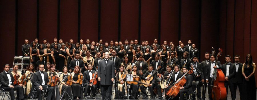 Ensamble Coral y Sinfónica de la Universidad Autónoma de la Ciudad de México