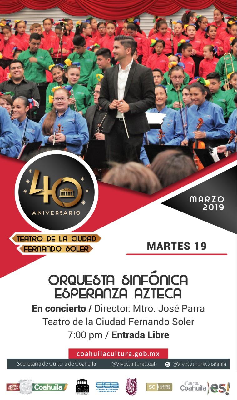 Orquesta Sinfónica Esperanza Azteca en Concierto