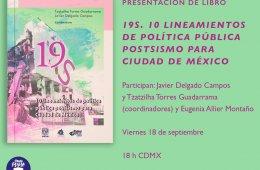 Tema: 19S. 10 lineamientos de política pública postsism...