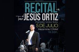 Recital con el tenor Jesús Ortíz