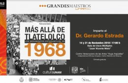 Course: Beyond Tlatelolco. The Student Movements of 1968