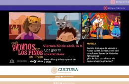 Mis Pininos en Los Pinos en línea: 1,2,3 ¡por ti! (Mús...
