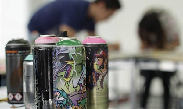 Taller de Esténcil (Graffiti)