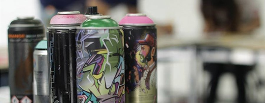 Taller de Técnicas de graffiti