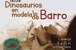 Taller dinosaurios en modelado de barro
