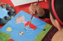 Taller El niño/niña dibujante y pintor-a nivel básico