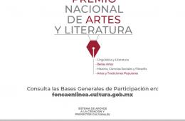 Convocatoria Premio Nacional de Artes y Literatura 2021