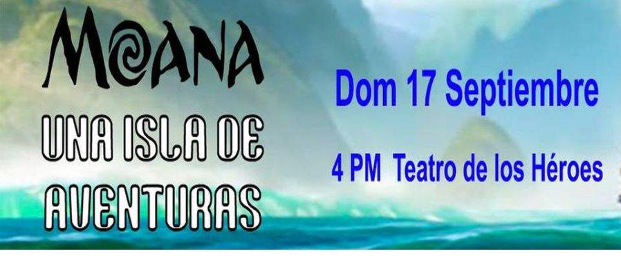 Moana: Una isla de aventuras