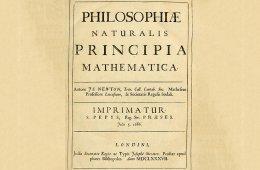 Philosophie Naturalis Principia Mathematica de Isaac Newt...