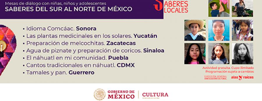 Mesa de diálogo con niñas, niños y adolescentes: Saberes del sur al norte de México