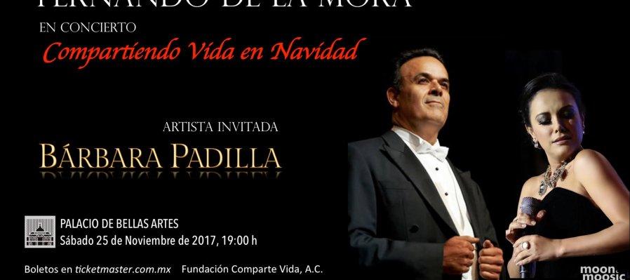 Compartiendo Vida en Navidad, Fernando de la Mora