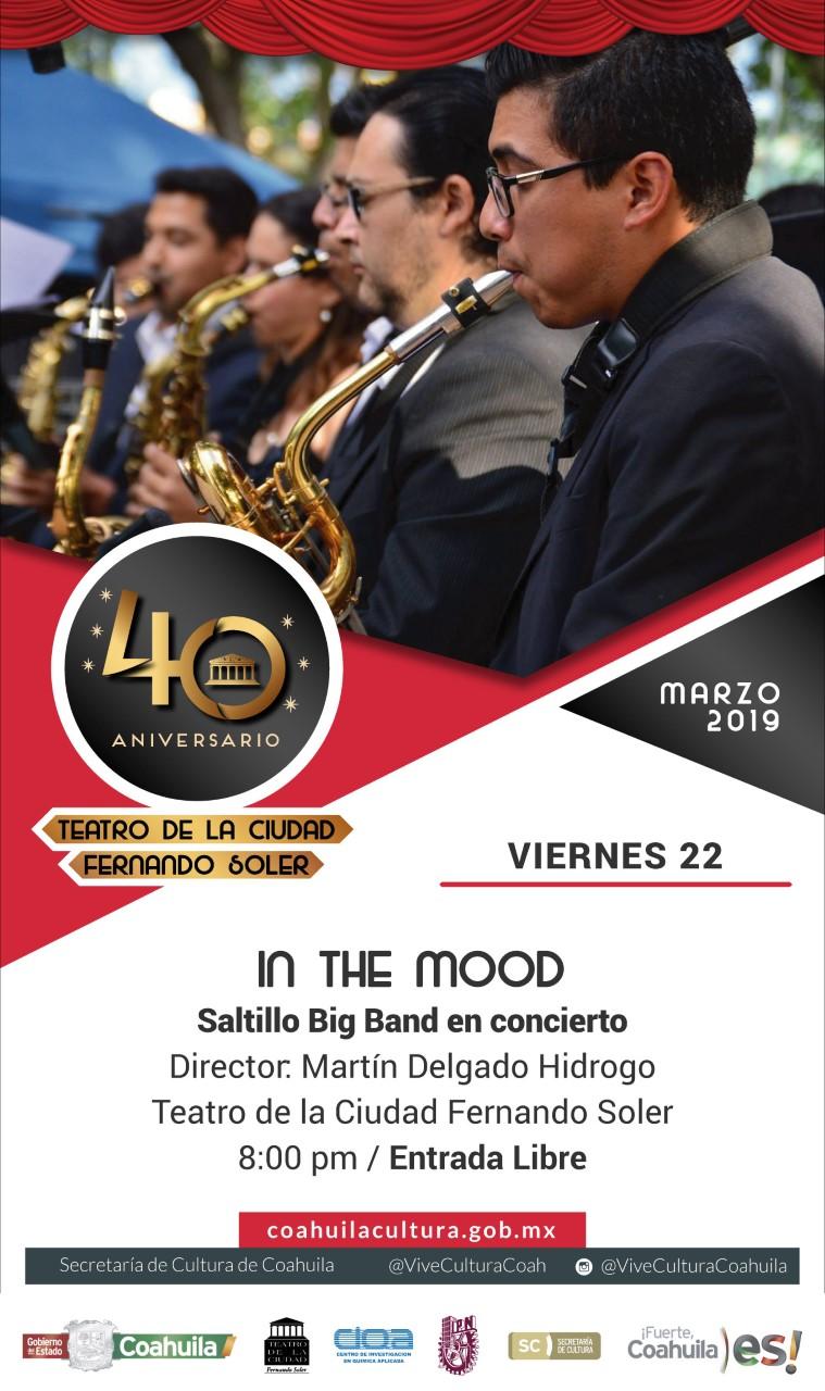 In the Mood. Saltillo Big Band en concierto