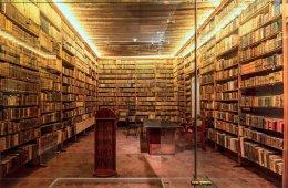 Biblioteca en el Museo de Guadalupe