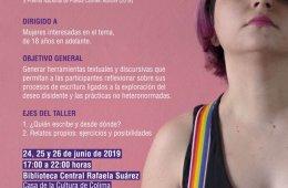 Workshop of Erotic Lesbian Writing