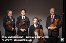 Cuarteto Latinoamericano. 250 aniversario de Ludwig van B...