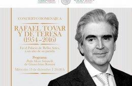 Concierto Homenaje a Rafael Tovar y de Teresa