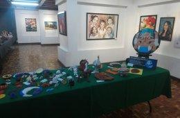 Exposición de pintura, cerámica y alebrijes