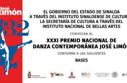 XXXI Premio Nacional de Danza Contemporánea José Limón