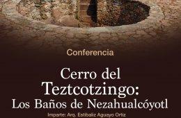 Cerro del Teztcotzingo: Los baños de Nezahualcóyotl
