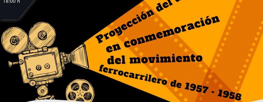 Conmemoración del Movimiento Ferrocarrilero 1958-1959