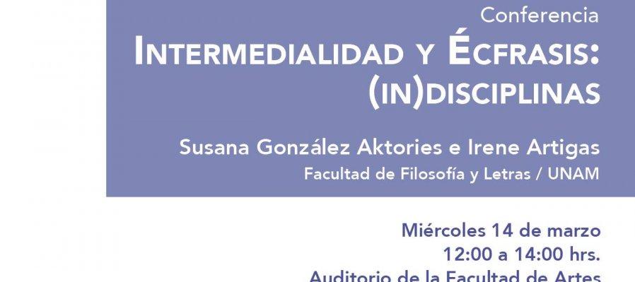 Intermedialidad y écfrasis: interdisciplinas