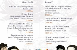 II Congreso Historia del Arte y la cultura duranguense