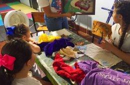 Talleres artísticos en El Vagón con Alas