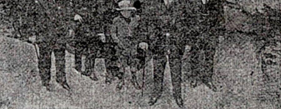 2 de diciembre de 1918: Las excavaciones arqueológicas en Cuicuilco