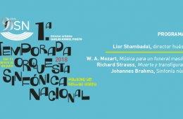 Orquesta Sinfónica Nacional. Programa 10. A Pantalla y S...