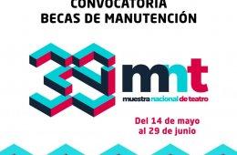 Convocatoria para Becas de Manutención en MNT 2018