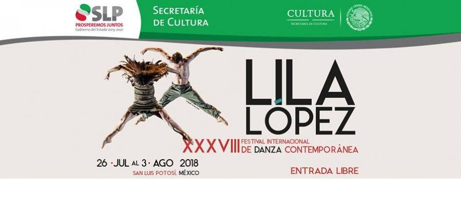 XXXVIII Festival Internacional de Danza Contemporánea Lila López 2018