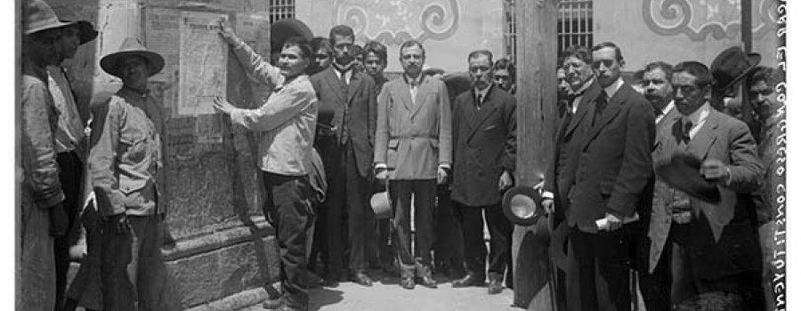 La Constitución de 1917. Una historia en imágenes