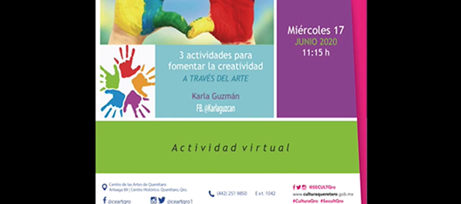 Tres actividades para fomentar la creatividad