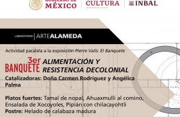 3er Banquete: Alimentación y resistencia decolonial