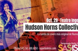 Hudson Horns Collective en Concierto