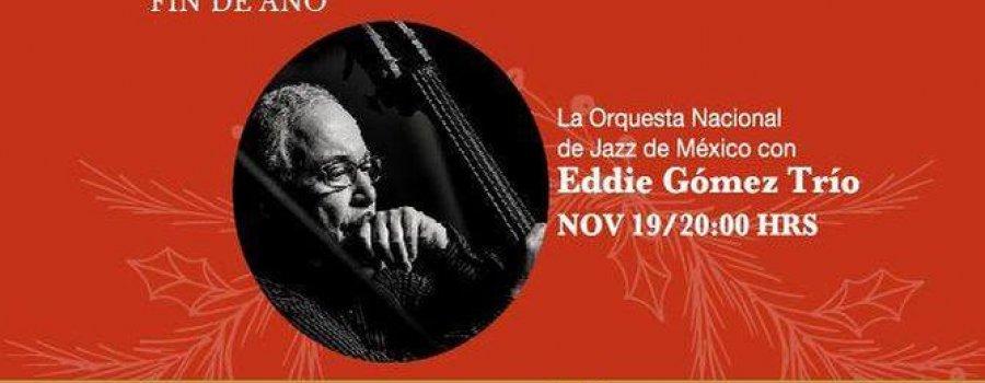 Orquesta nacional de jazz con Eddie Gómez Trio
