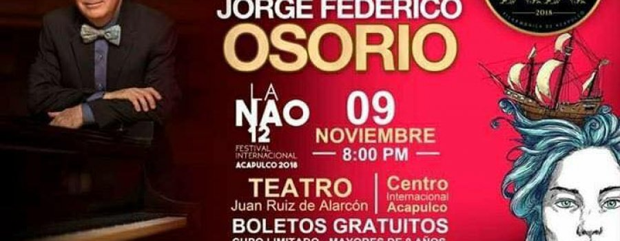 Una noche de gala: Jorge Federico Osorio