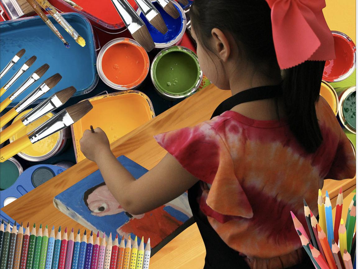 Taller El niño dibujante y pintor nivel básico (3 a 5 a...
