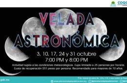 Velada astronómica de septiembre