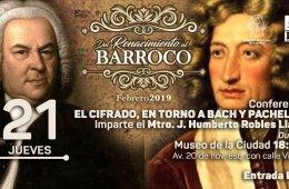 """Conferencia """"El cifrado en torno a Bach y Pachelbel&..."""