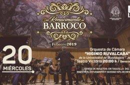 """Concierto de la Orquesta de Cámara """"Higinio Ruvalca..."""