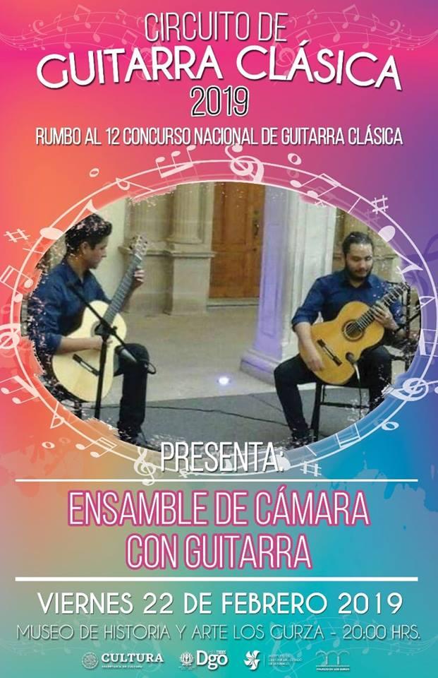 Circuito de guitarra clásica 2019