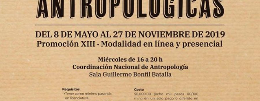 Diplomado Peritaje en Ciencias Antropológicas